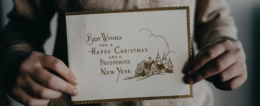 como diseñar postales navideñas