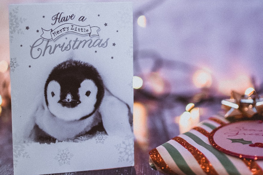 como crear tus propias tarjetas de navidad