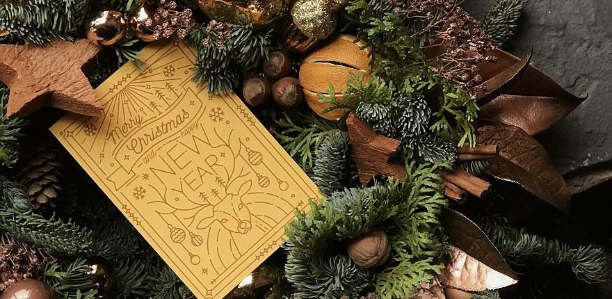 como diseñar tarjetas de navidad