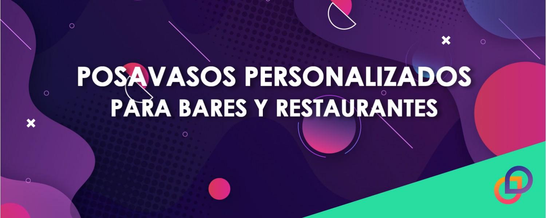Posavasos personalizados para restaurantes