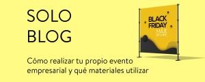 Cómo realizar tu propio evento empresarial y qué materiales promocionales utilizar