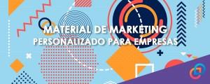 Material de marketing personalizado para empresas